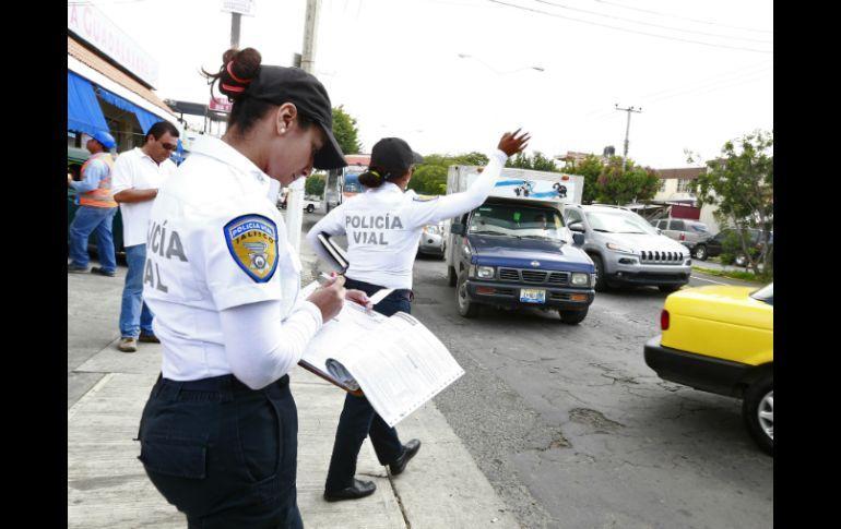 Requisito para mujeres Policía vial en México