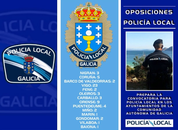 Requisitos para ingresar a la Policía local de Galicia