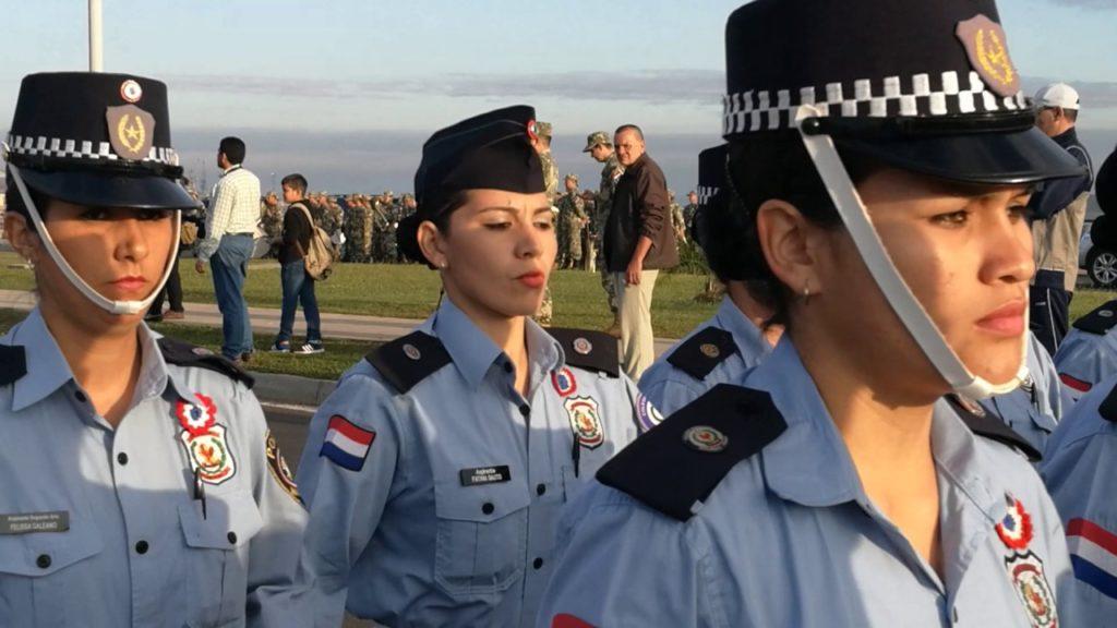 Requisito para ser policía en Paraguay