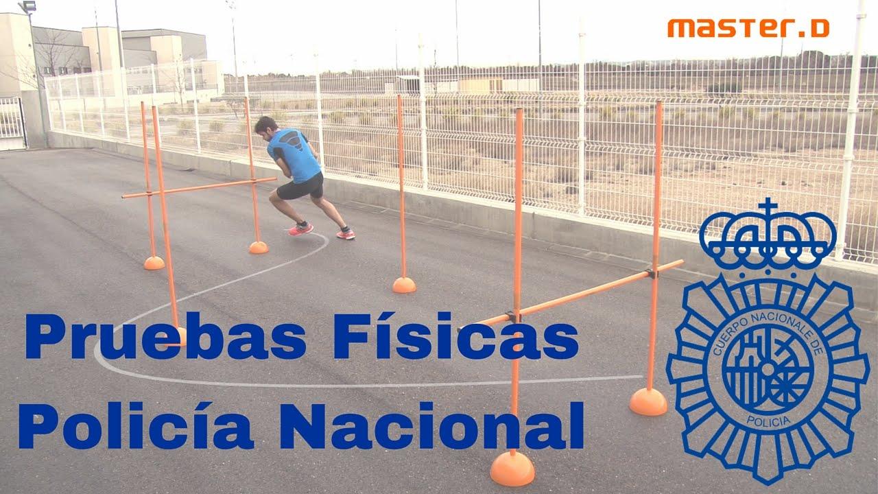 Requisitos para la Pruebas Físicas de la Policía Nacional en España