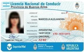 Requisitos para la renovación de licencia de conducir en lujan - Argentina