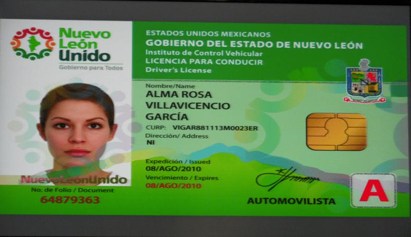 Requisitos para sacar la licencia de conducir en Nuevo León