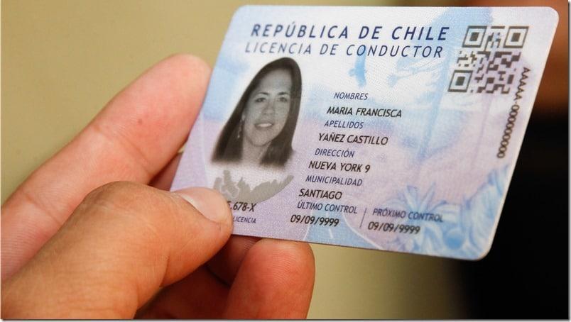 requisitos para sacar la licencia de conducir en chile
