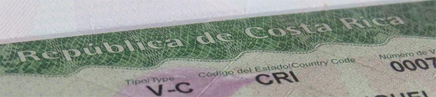 Averigüe los Requisitos para Visa de Costa Rica en Colombia
