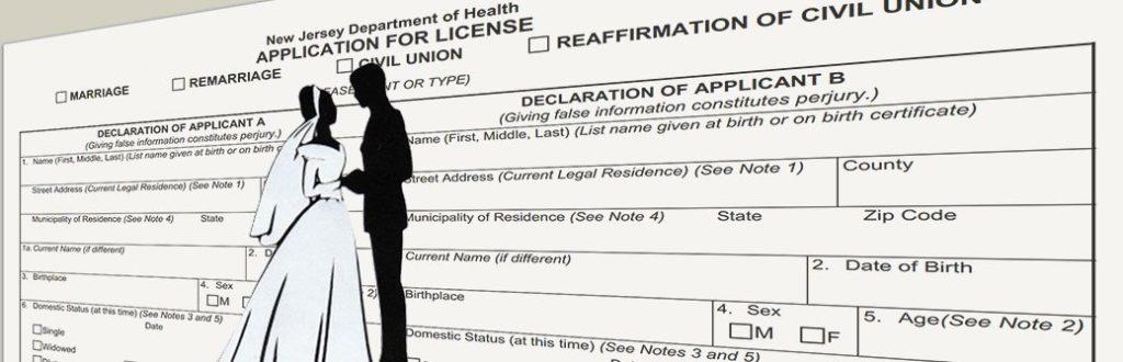Requisitos para casarse en New Jersey Estados Unidos