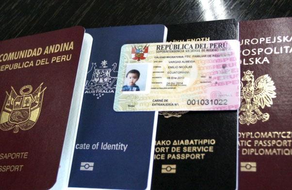 Requisitos para sacar un pasaporte en Peru
