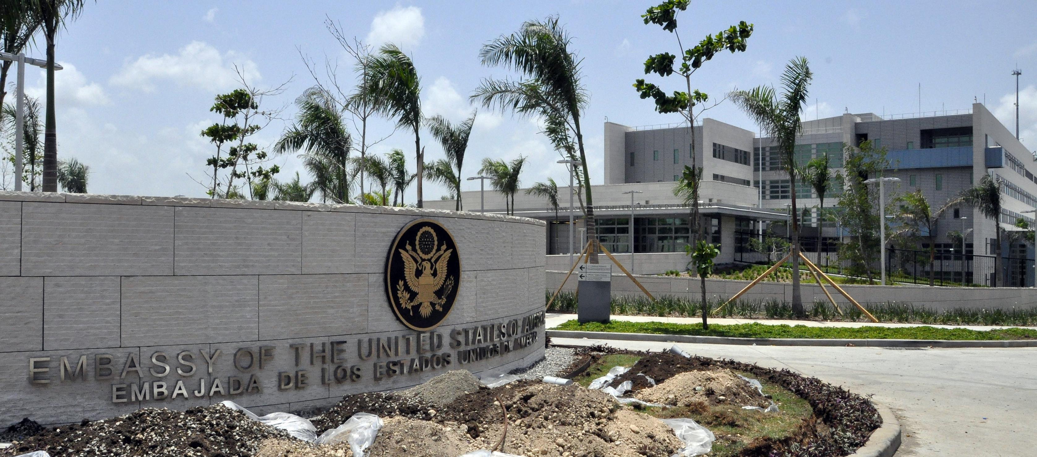 Embajada de los Estados Unidos en Santo Domingo