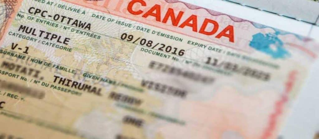 requisitos para una visa de canadá en perú