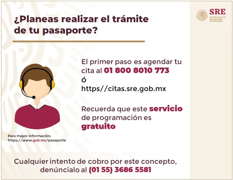 requisitos y costos de una pasaporte en méxico
