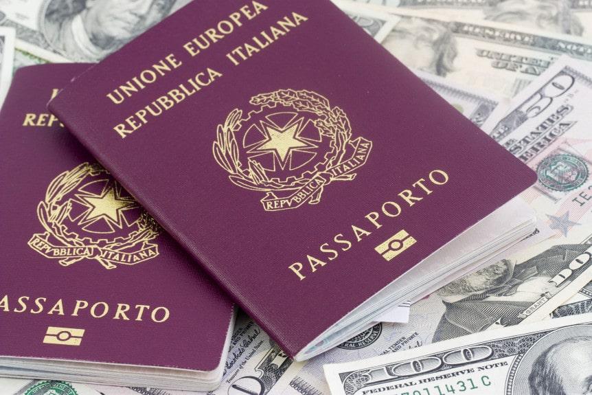 requisitos para nacionalidad italiana en chile