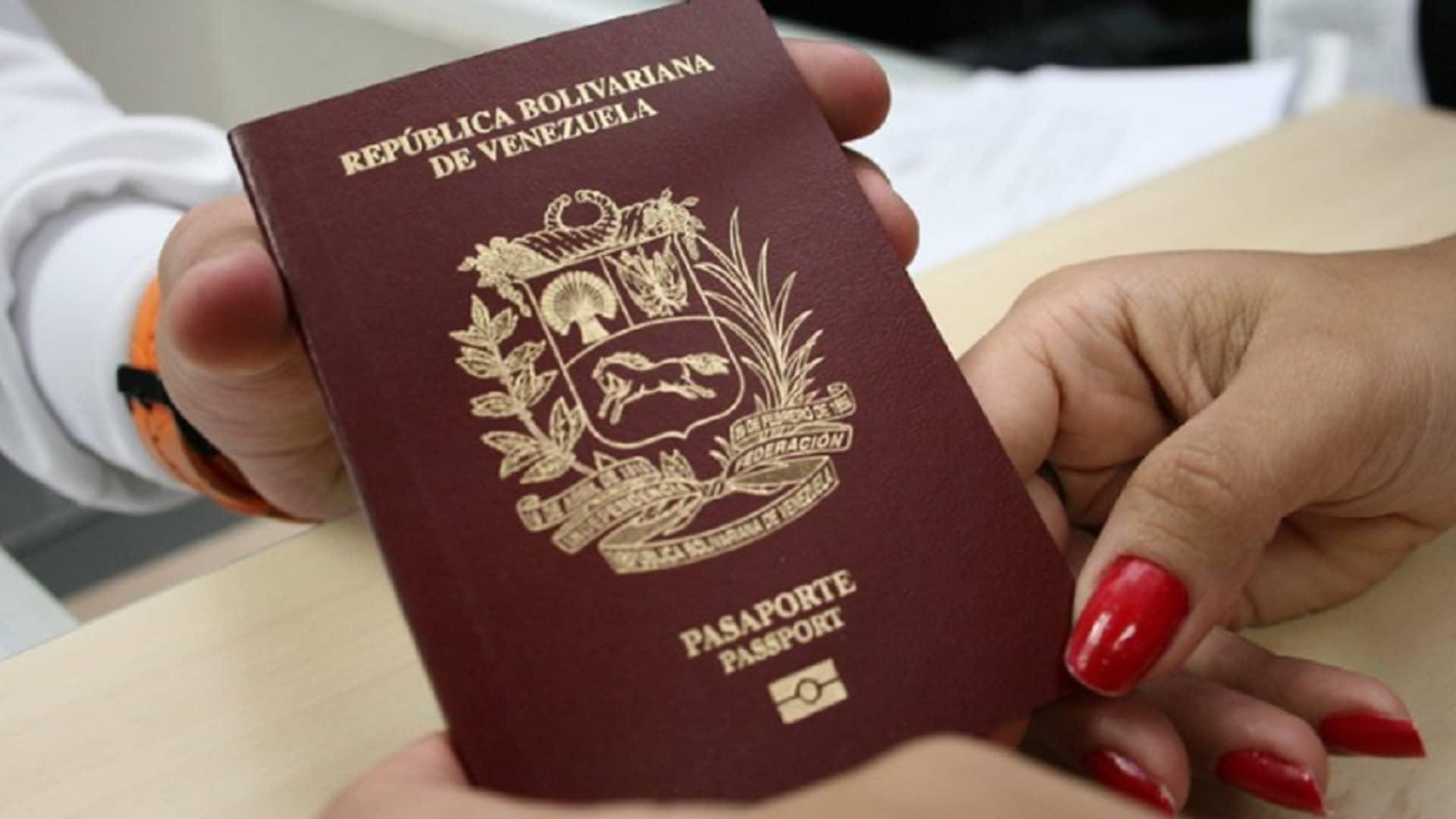 requisitos para renovar el pasaporte en venezuela