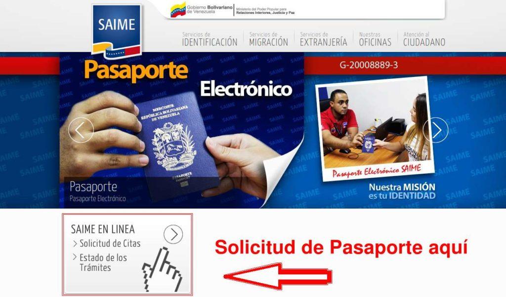 requisitos para el pasaporte
