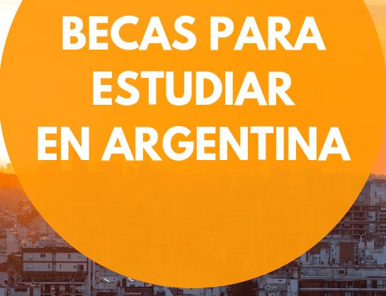Becas para Estudiar en Argentina