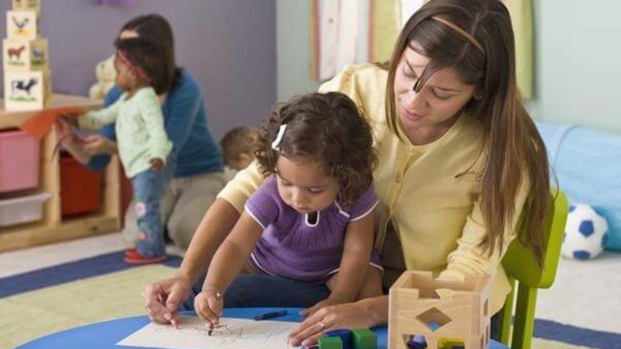 maestra de preescolar