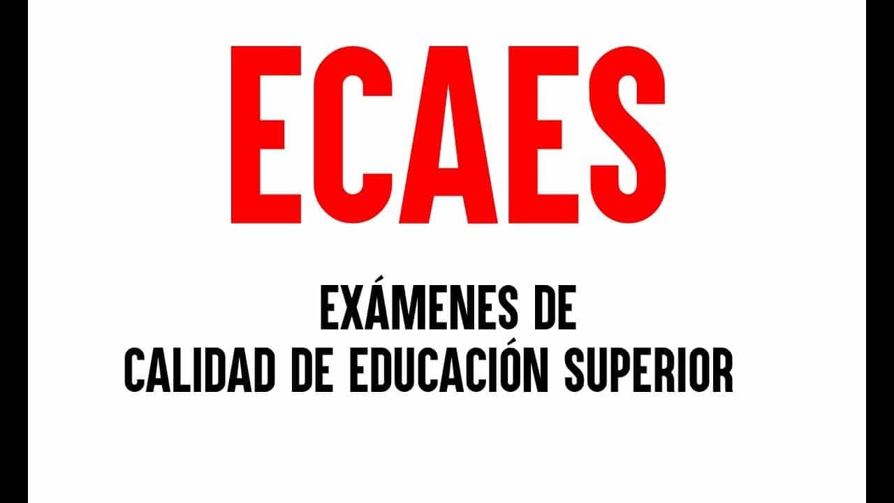 resultados ecaes