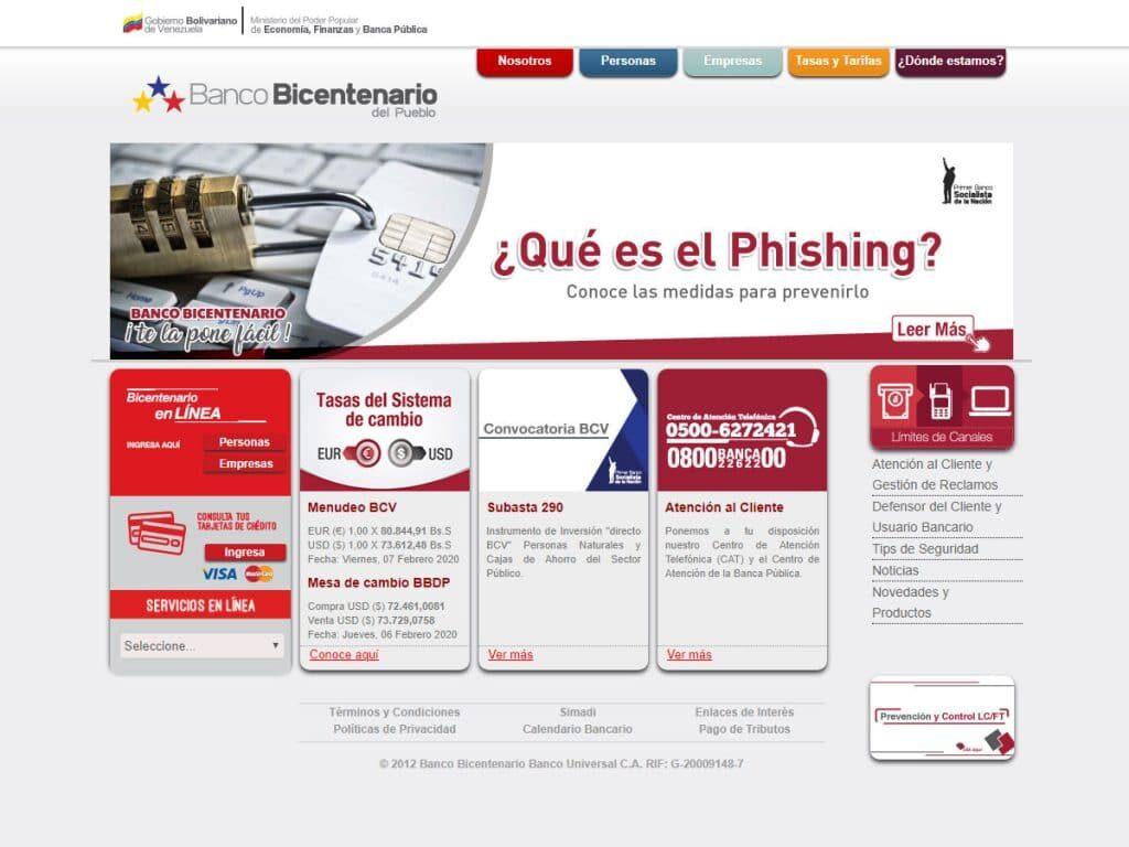 Banco Bicentenario Empresas en Línea