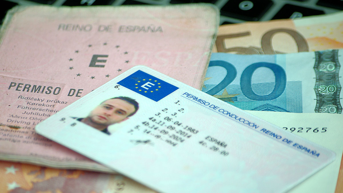 canje de permiso de conducir en espana