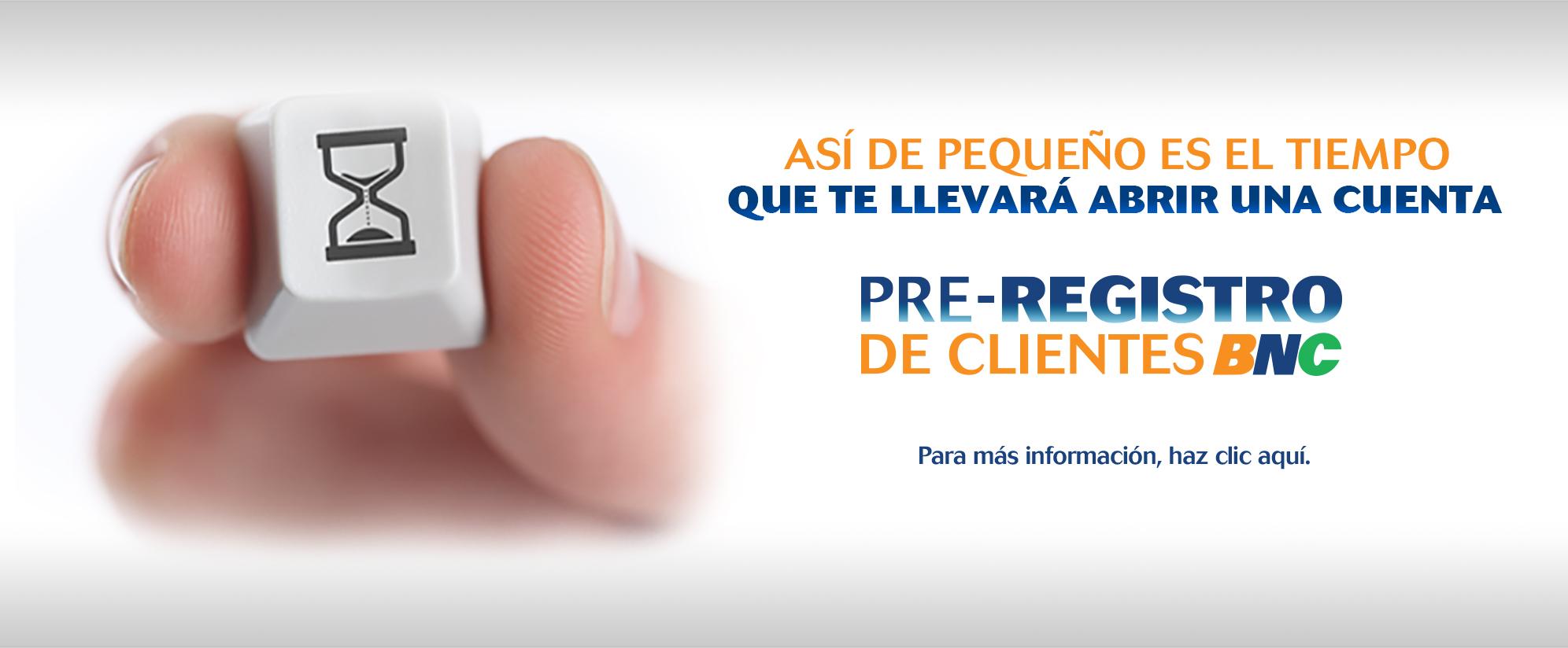 pre registro banco nacional de credito