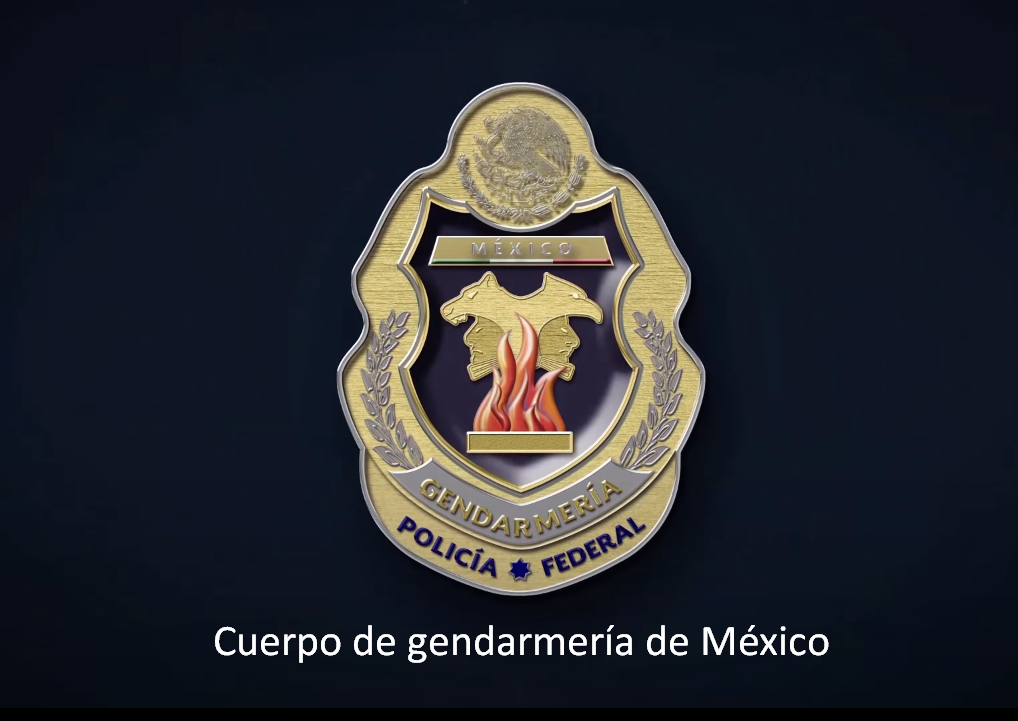 cuerpo de gendarmería de México