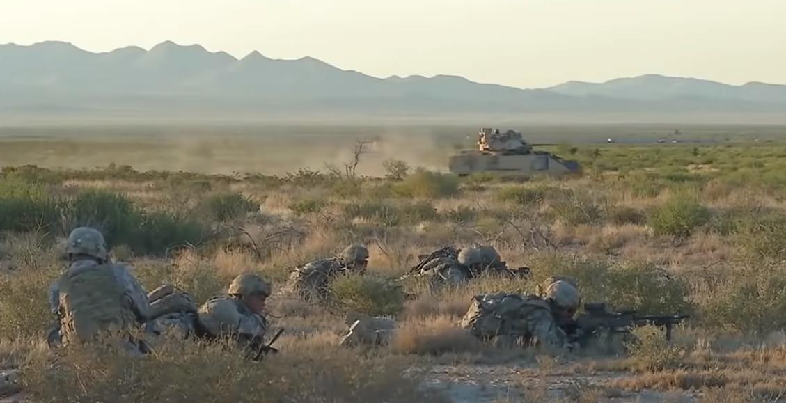 Ejército de los Estados Unidos en el campo