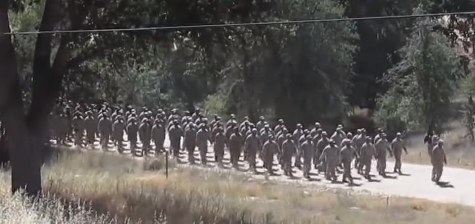 entrenamiento del Ejército de los Estados Unidos