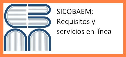 SICOBAEM Requisitos y servicios en línea