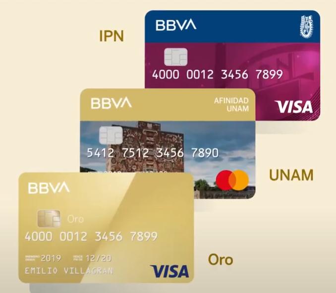 tarjeta UNAM BBVA