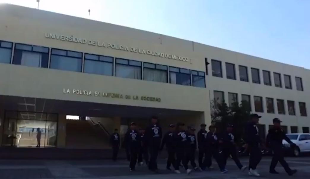 universidad de la policía de la CDMX
