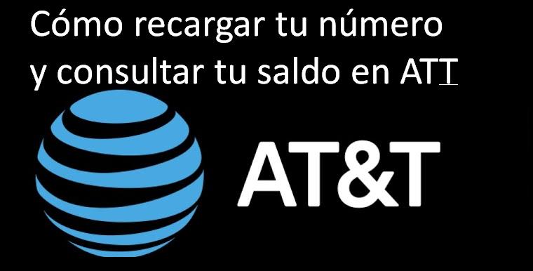 Cómo recargar tu número y consultar tu saldo en AT&T