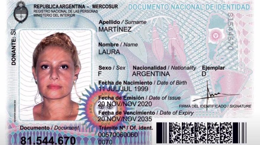 DNI argentino
